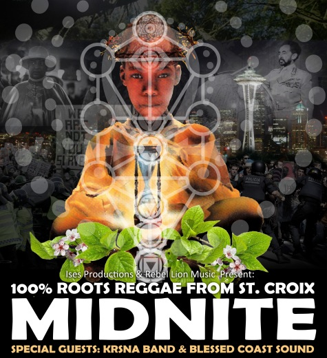 Midnite, Seattle, Neumo's, Roots, Reggae