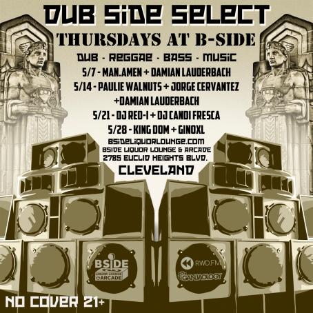 Ganjaology, Dub Side Select, Cleveland, Man Amen, Damian Lauderbach
