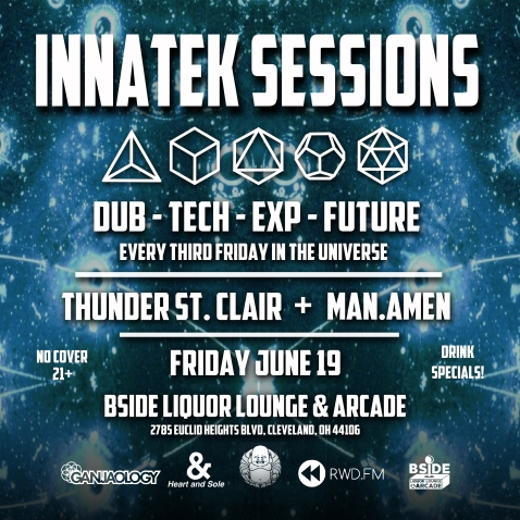 Innatek Sessions, B Side Liquor Lounge & Arcade, Ganjaology, Future Bass